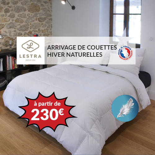 LESTRA - Couette SOFTYNE 50% duvet
