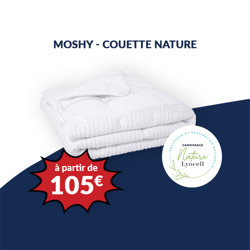 MOSHY - Couette nature