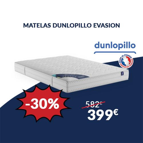 Matelas DUNLOPILLO EVASION