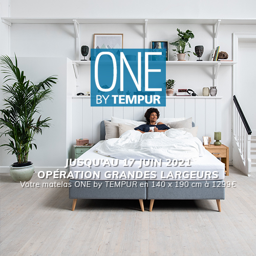 offre One by Tempur