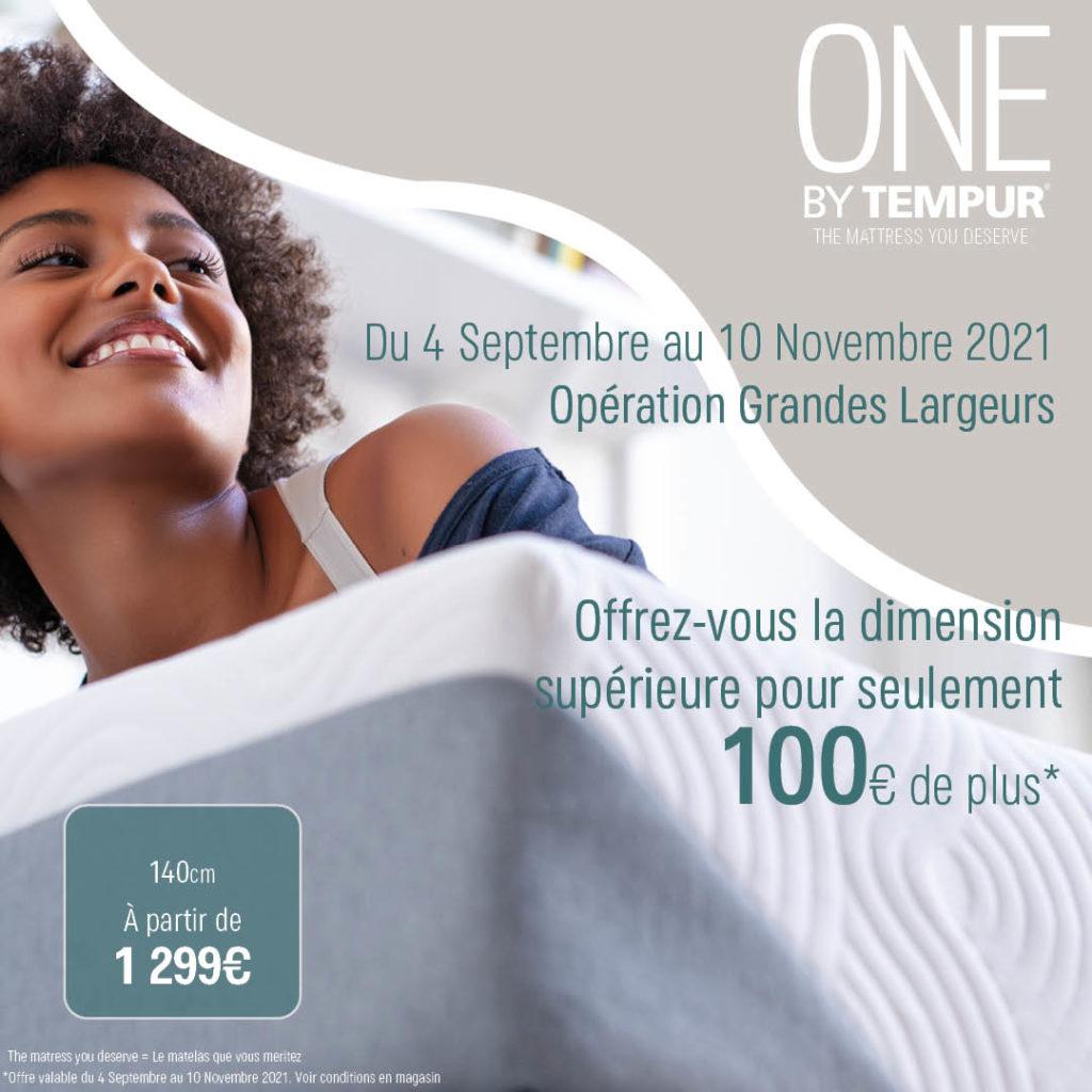 ONE : GRANDES LARGEURS jusqu'au 10 Novembre 2021